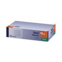 Энап таблетки 10 мг, 500 шт.