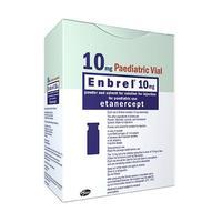 Энбрел лиофилизат для р-ра для п/кожн. введ. флакон 10мг 4шт. + шприц с растворителем 1мл 4шт.