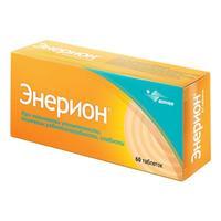 Энерион таблетки покрыт.об. 200 мг 60 шт.