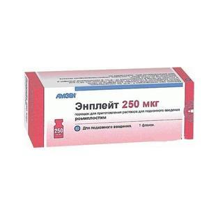 Энплейт флакон 250 мг, 5 мл
