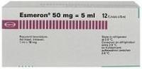 Эсмерон флаконы 10 мг/мл, 5 мл, 10 шт.