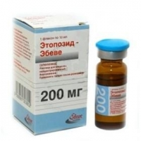 Этопозид-Эбеве конц. для р-радля инфузий 20 мг/мл флакон 20 мл
