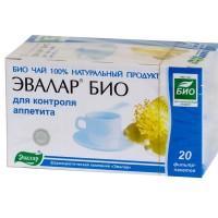 Чай эвалар био для контроля аппетита фильтрпакетики 1,5 г, 20 шт.