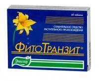 Фитотранзит таблетки, 60 шт.