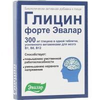 Глицин форте таблетки, 60 шт.