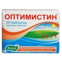 Оптимистин таблетки 500 мг, 20 шт.