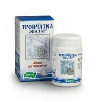 Тройчатка эвалар капсулы 400 мг, 40 шт.