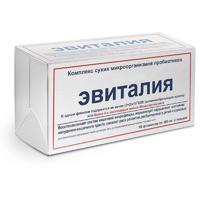 Эвиталия Закваска комплекс сухих микроорганизмов 300 мг флаконы 10 шт.