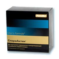 Менс формула спермактин Форте пакетики 10 г, 15 шт.