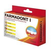 Farmadont I Пластины коллагеновые для десен с маклеей, шалфеем, шиповником, ромашкой 24 шт.