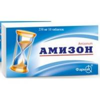 Амизон 0.25г таб. п/пл/об. х10