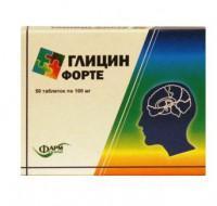 Глицин форте таблетки, 50 шт.