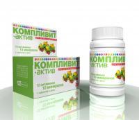 Компливит-актив таблетки, 60 шт.