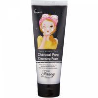 Fascy Bubble Tina Charcoal Pore Cleansing Foam Пенка для глуб. очищения кожи лица с древ. Углем 1шт