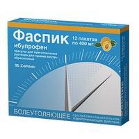 Фаспик гранулы для р-ра для приема внутрь 400 мг абрикос саше 12 шт.