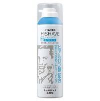 Feather пена для бритья HiShave lime с гиалуроновой кислотой 230 г