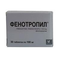 Фенотропил таблетки 100 мг, 30 шт.