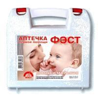 "Аптечка матери и ребенка ""фэст"" футляр полистирол"