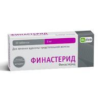 Финастерид-OBL таблетки покрыт.плен.об. 5 мг 30 шт.