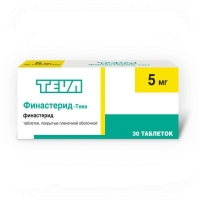 Финастерид-Тева таблетки покрыт.плен.об. 5 мг 30 шт.