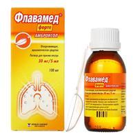 Флавамед форте р-р для приема внутрь 30 мг/5 мл флакон 100 мл