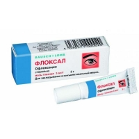 Флоксал мазь глазная 3 мг/г 3 г