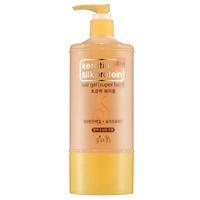 Flor de Man Гель для укладки волос с протеинами шелка МФ Кератин суперфиксация 500 мл