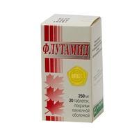 Флутамид таблетки 250 мг, 20 шт.