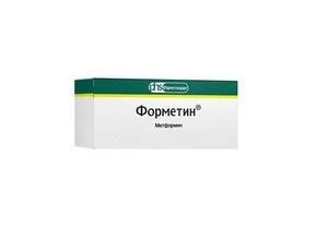 Форметин таблетки 850 мг, 60 шт.