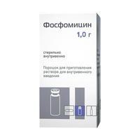 Фосфомицин пор.д/ин.1г 1 шт.