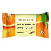 Fresh Juice Мыло косметическое Апельсин и корица (Orandge & Cinnamon) 75 г