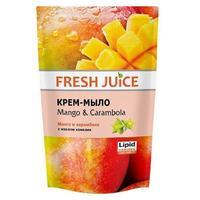 Fresh Juice Жидкое Крем-мыло Манго и Карамбола (Mango & Carambola), 460 мл напо