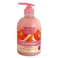 Fresh Juice Жидкое Крем-мыло с увл. Молочком Грейпфрут (Grapefruit), 460 мл