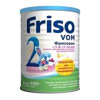 Фрисовом 2 New специальная молочная смесь с пребиотиками 6 - 12мес. 400 г