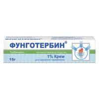 Фунготербин крем 1%, 15 г