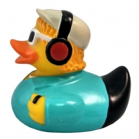 Funny Ducks Игрушка для ванны Уточка диджей 1 шт.