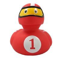 Funny Ducks Игрушка для ванны Уточка гонщик 1 шт.