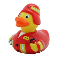Funny Ducks Игрушка для ванны Уточка пожарный 1 шт.