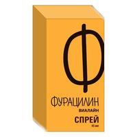 Фурацилин Виалайн средство для гигиены полости рта 45 мл