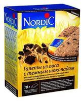 Галеты Нордик (Nordic) из овса с темным шоколадом с 3-х лет 300 г упак.