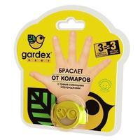 Gardex Baby Браслет со сменным картриджем от комаров браслет+картриджи, 3 шт.