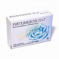Ригевидон 21+7 таблетки, 84 шт.