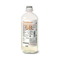 Гелофузин раствор для инфузий 500 мл п/э контейнеры 10 шт.