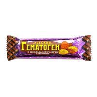 Гематоген Русский с изюмом в шоколадной глазури, 40 г