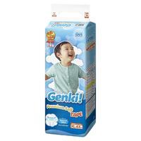 Genki Premium Soft Подгузники для мальчиков и девочек XL (12-17 кг) 44 шт.