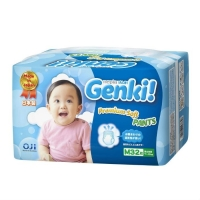 Genki Premium Soft Трусики для мальчиков и девочек M (7-10 кг) 32 шт.
