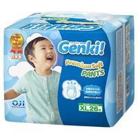 Genki Premium Soft Трусики для мальчиков и девочек XL (12-17 кг) 26 шт.