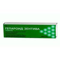 Гепароид зентива мазь 100 ед/ мг, 30 г