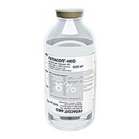 Гепасол-НЕО р-р для инфузий 8% флакон 500 мл