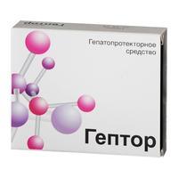 Гептор таблетки покрыт.плен.об. 400 мг 20 шт.